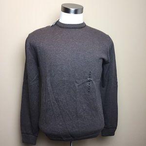 NWT Banana Republic Brown Cotton Sweater - Medium